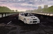 Mitsubishi Lancer Evolution VI 1999 Mod for City Car Driving v.1.5.6