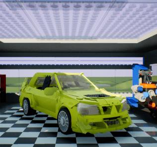 Mitsubishi Lancer Evolution VIII Mod for Brick Rigs