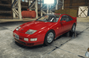 Nissan Fairlady Z 300ZX Mod for Car Mechanic Simulator 2018