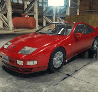 Nissan Fairlady Z 300ZX Mod for Car Mechanic Simulator 2018