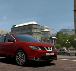 Nissan Qashqai 2016 Mod for City Car Driving v.1.5.6