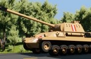 """PzKpfw V Panther """"Pudel"""" Mod for Brick Rigs"""