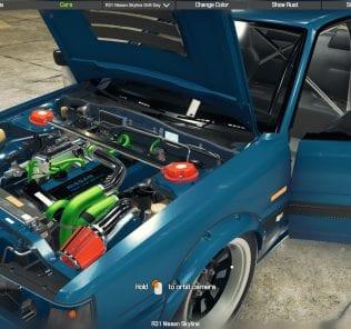 R31 Nissan Skyline Mod for Car Mechanic Simulator 2018