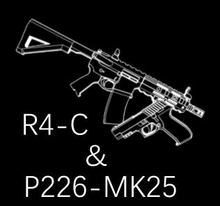 [Rainbow Six: Siege] R4-C & P226-MK25 Mod for Ravenfield