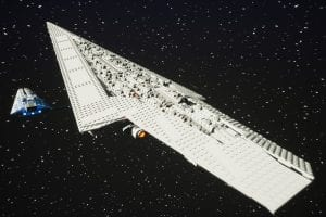 Star Wars Super Star Destroyer (lego 10221 set) Mod for Brick Rigs