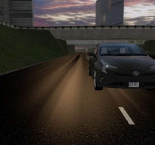Toyota Prius 2016 Mod for City Car Driving v.1.5.6