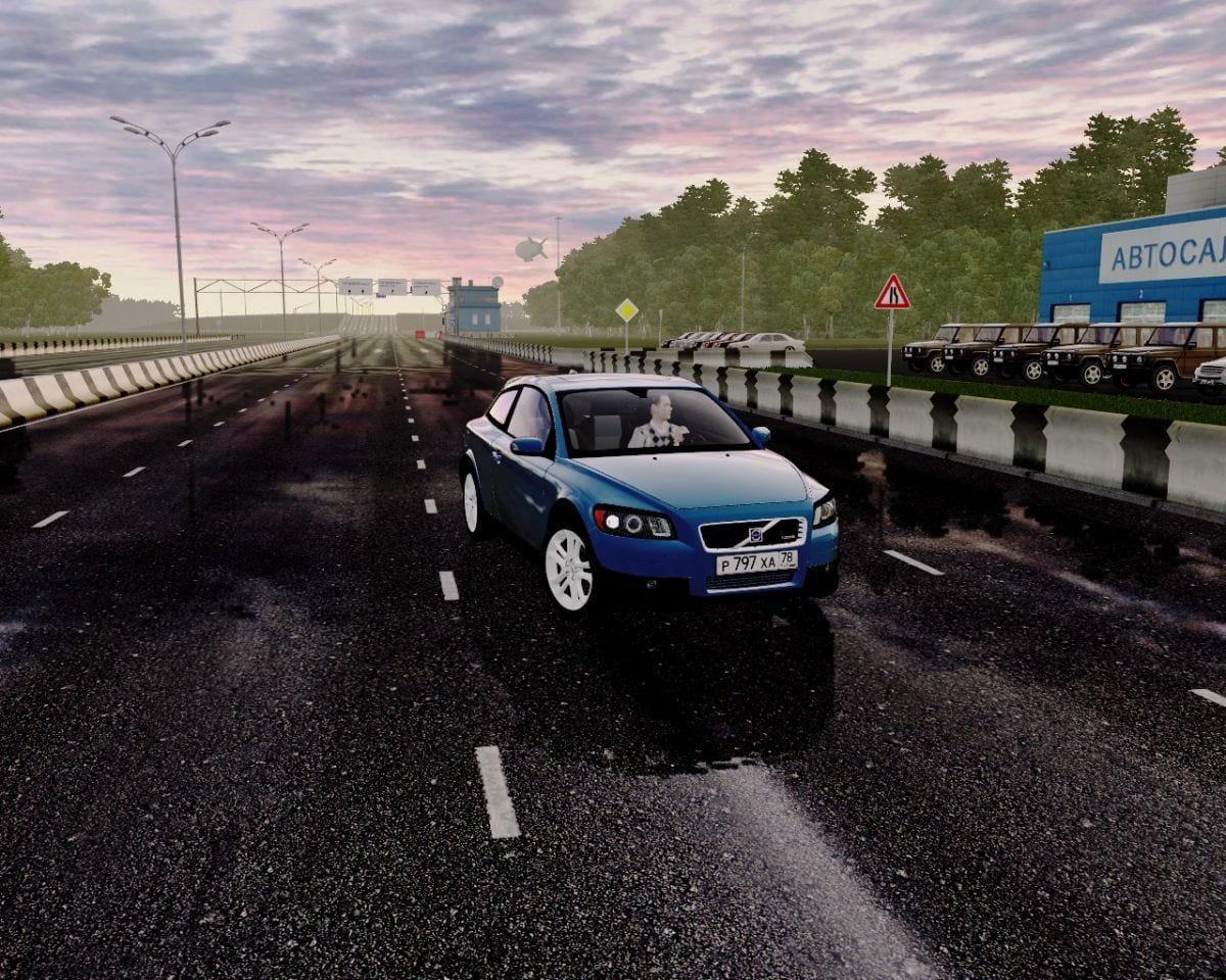 Volvo C30 Mod for City Car Driving v 1 5 2 - 1 5 6