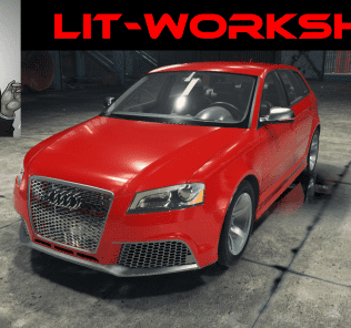 Audi RS3 Mod for Car Mechanic Simulator 2018