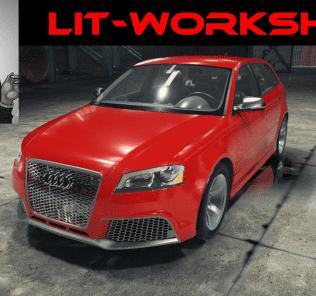 Audi RS3 Mod for Car Mechanic Simulator 2018