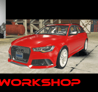Audi RS6 Avant Mod for Car Mechanic Simulator 2018