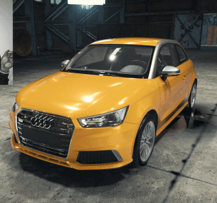 Audi S1 Mod for Car Mechanic Simulator 2018