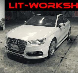 Audi S3 Sedan Mod for Car Mechanic Simulator 2018
