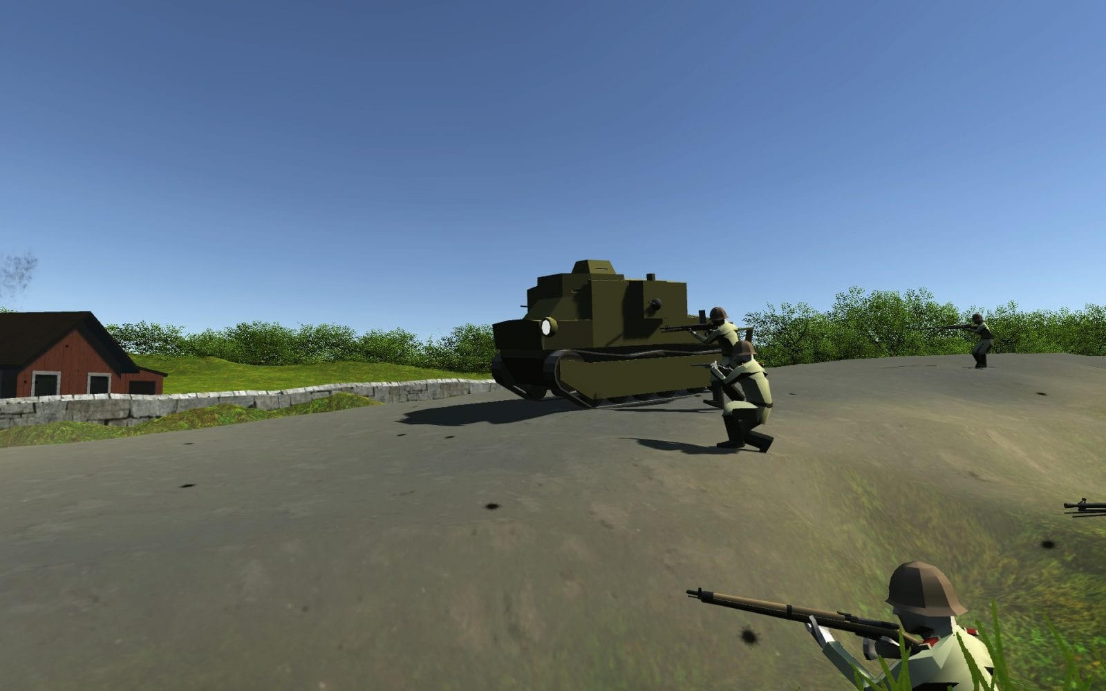 DeRiss SP-16 Mod for Ravenfield