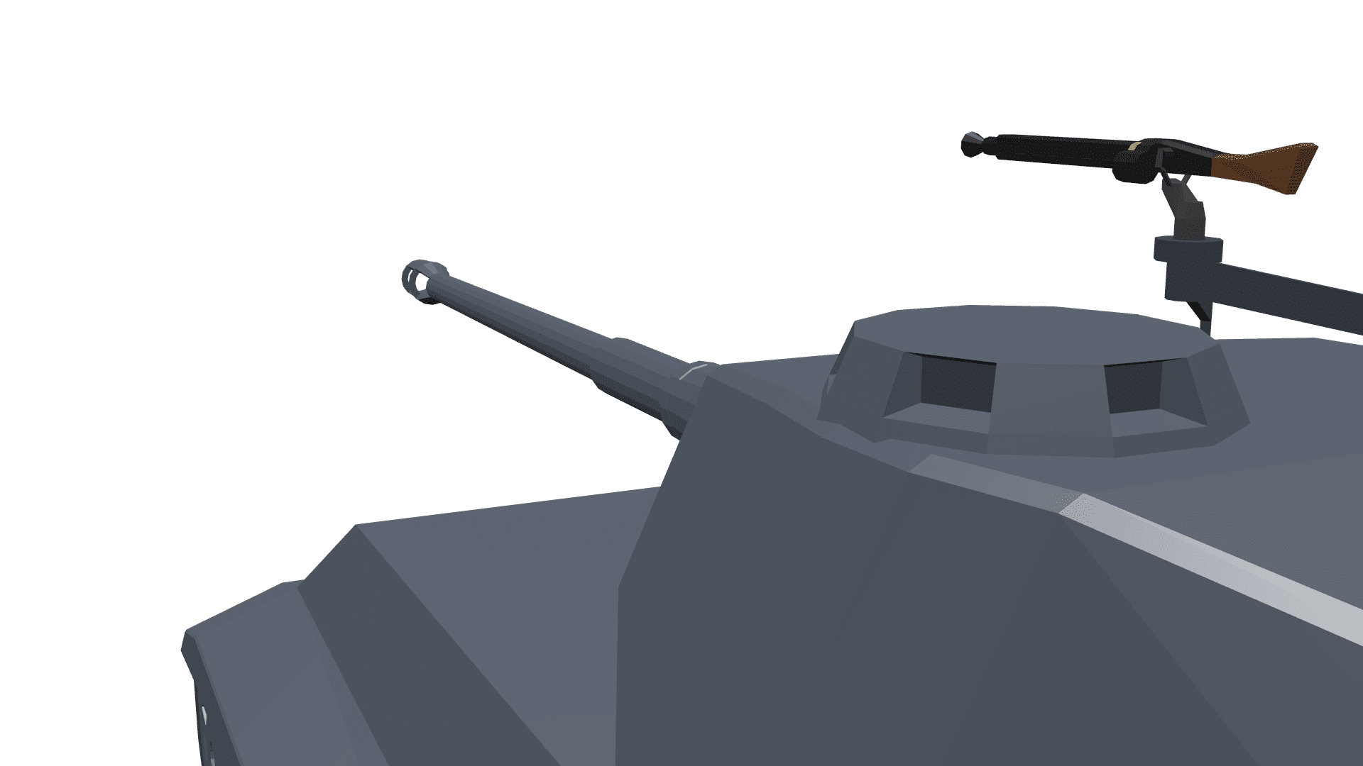 Tiger 2 Mod for Ravenfield