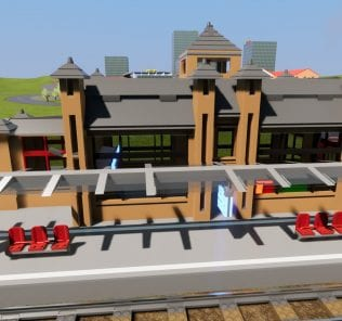 Train Station Mod for Brick Rigs