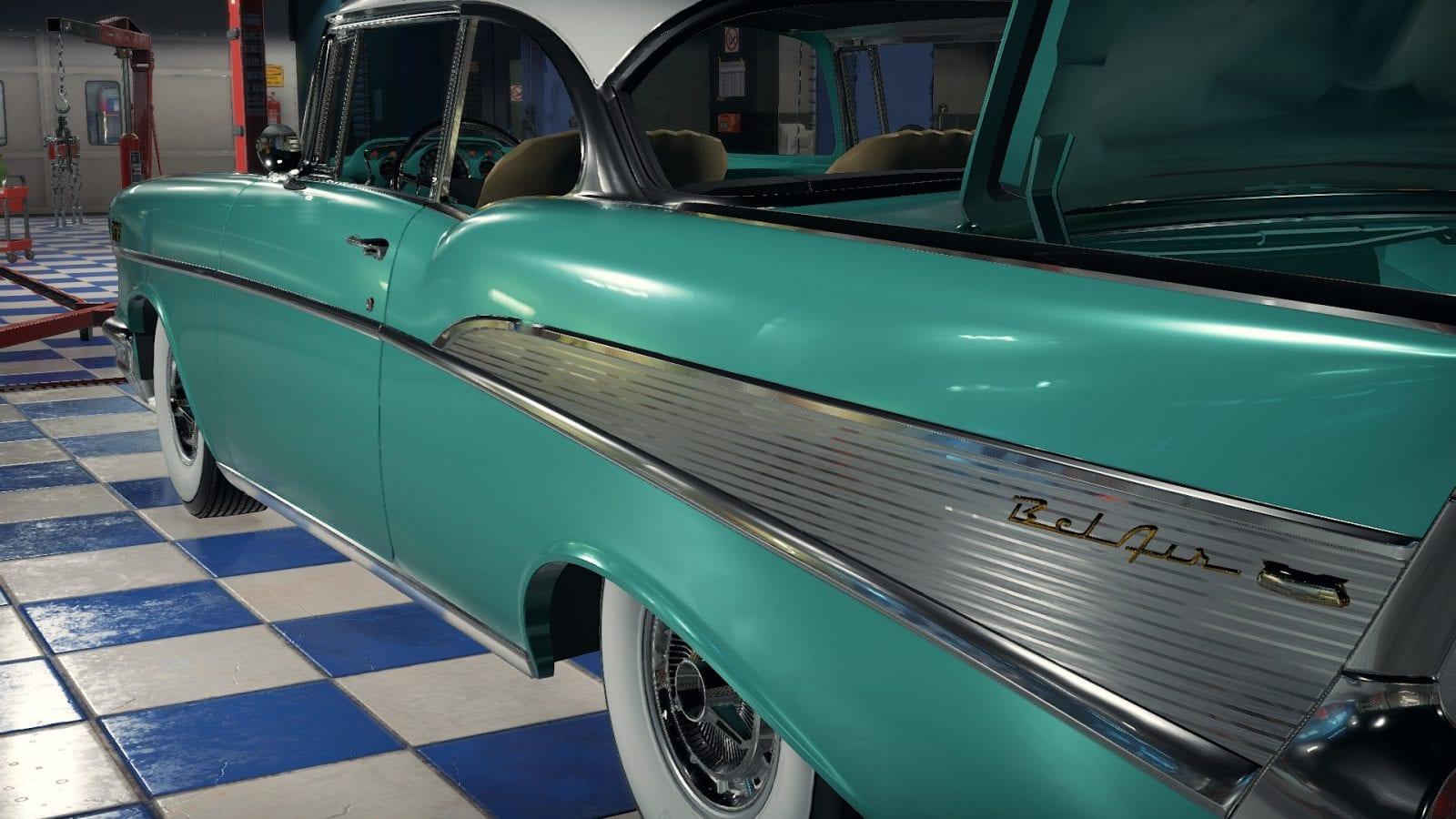 1957 Chevrolet Mod for Car Mechanic Simulator 2018