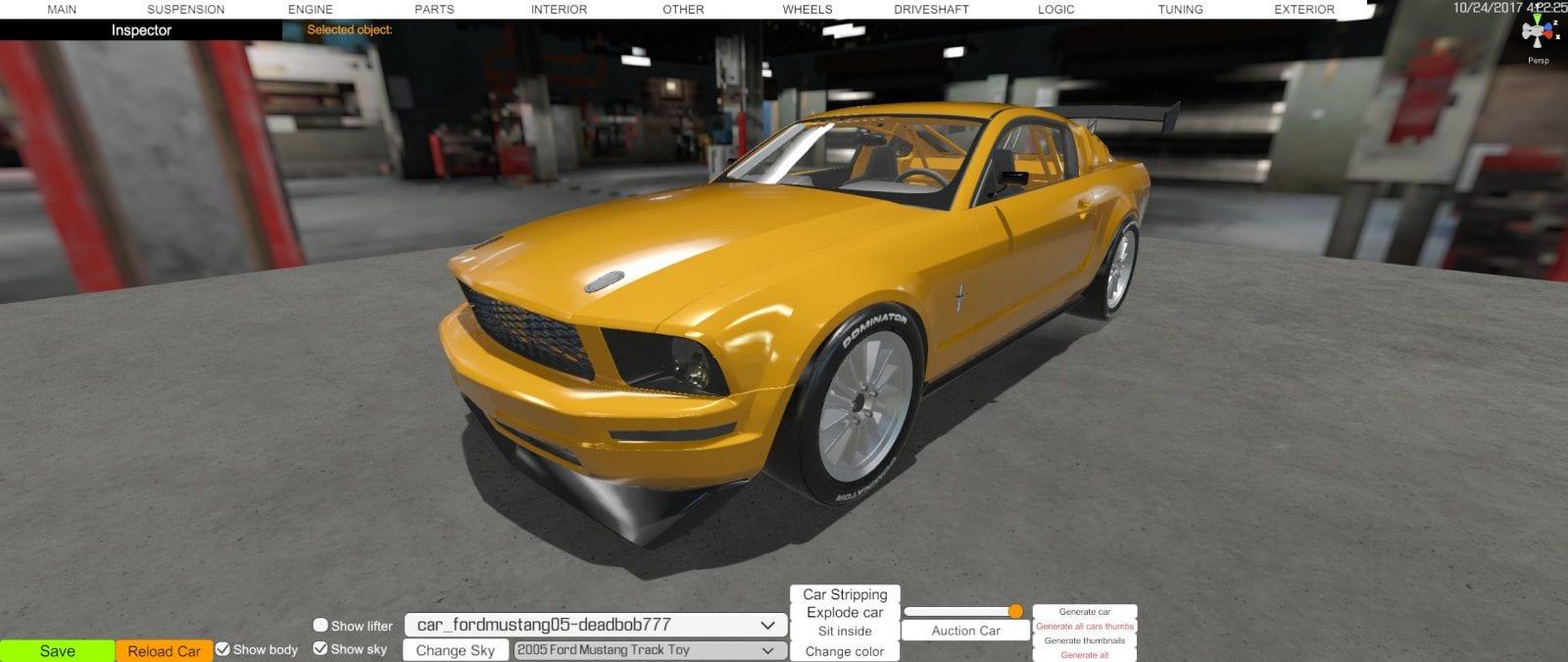 2005 Ford Mustang Mod for Car Mechanic Simulator 2018