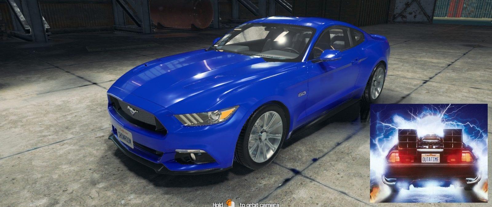 2015 Ford Mustang Mod For Car Mechanic Simulator 2018