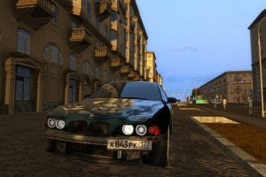 BMW 540i E39 Mod for City Car Driving v.1.5.1 - 1.5.6