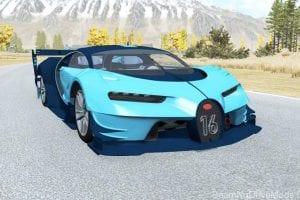 Bugatti Vision Gran Turismo 2015 Mod for BeamNG Drive