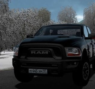Dodge Ram Rebel 2018 Mod for City Car Driving v.1.5.6