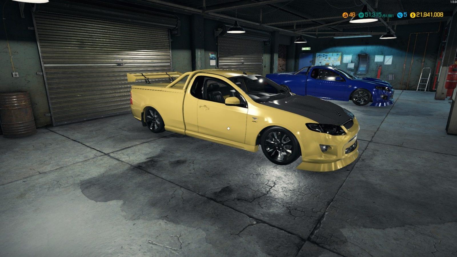 Ford Fpv Ute 2015 Mod For Car Mechanic Simulator 2018