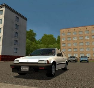 Honda Civic III Mod for City Car Driving v.1.5.1 - 1.5.6