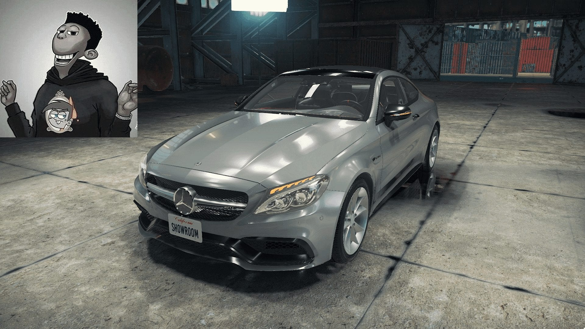 Mercedes-AMG C63 Coupe Mod for Car Mechanic Simulator 2018