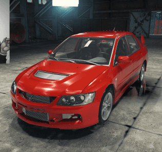 Mitsubishi Lancer IX MR Mod for Car Mechanic Simulator 2018