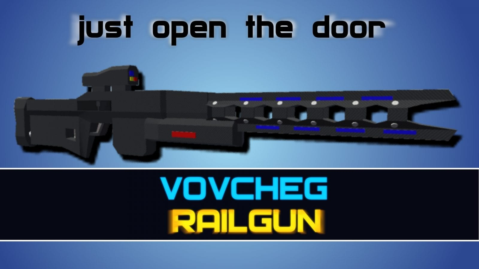 Railgun Mod for Ravenfield
