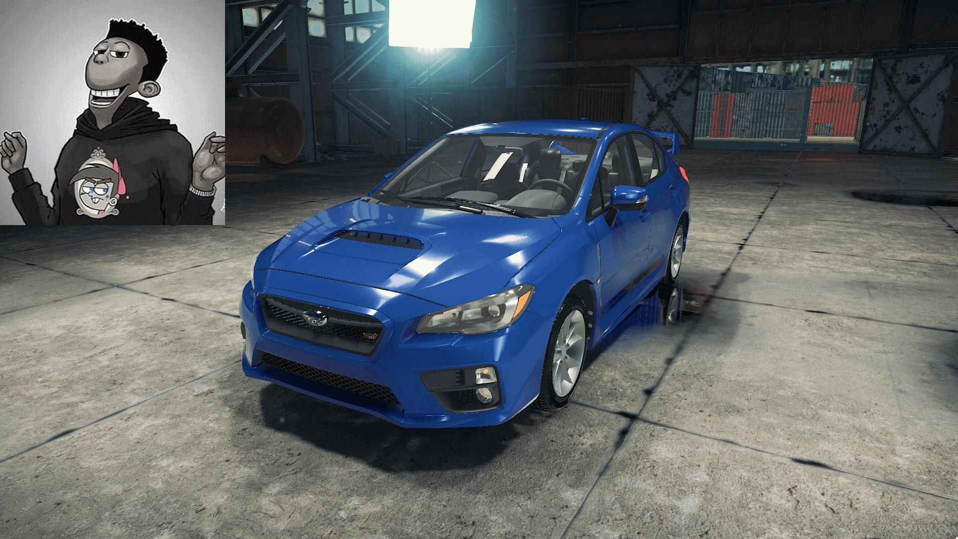 Subaru WRX STi Mod for Car Mechanic Simulator 2018
