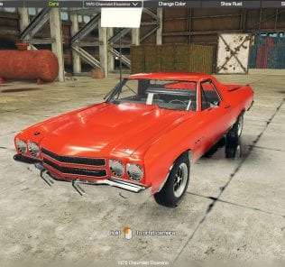 1970 Chevrolet Elcamino Mod for Car Mechanic Simulator 2018