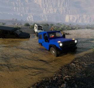 1982 Mercedes-Benz G-class Coupe Mod for Brick Rigs