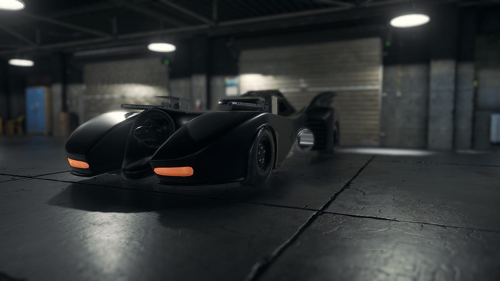 1989 Batmobile Mod for Car Mechanic Simulator 2018