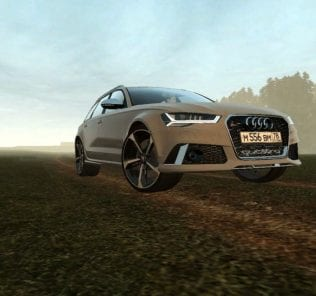 Audi Rs 6 Avant Stage 1 Mod for City Car Driving v.1.5.0 - 1.5.6