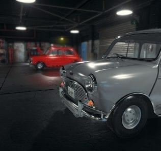 Austin Mini Cooper Mod for Car Mechanic Simulator 2018