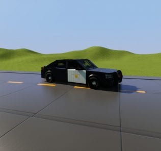 CHP 2010 Dodge Charger Mod for Brick Rigs