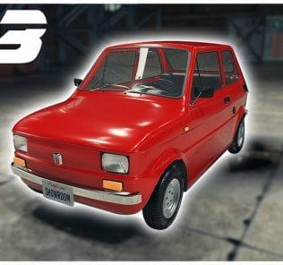 Fiat 126p (1975) Mod for Car Mechanic Simulator 2018
