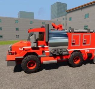 Fire Dept. Brush Truck 53 Mod for Brick Rigs