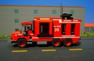 Fire Dept. Command Unit 39 Mod for Brick Rigs