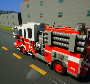 Fire Dept. Engine 46 Mod for Brick Rigs
