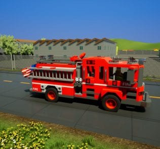 Fire Dept. Engine 48 Mod for Brick Rigs