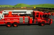 Fire Dept. Tower Ladder 27 Mod for Brick Rigs