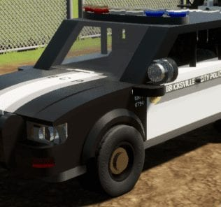 Generic Police SUV Mod for Brick Rigs
