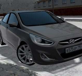 Hyundai Solaris Mod for City Car Driving v.1.5.0 - 1.5.6