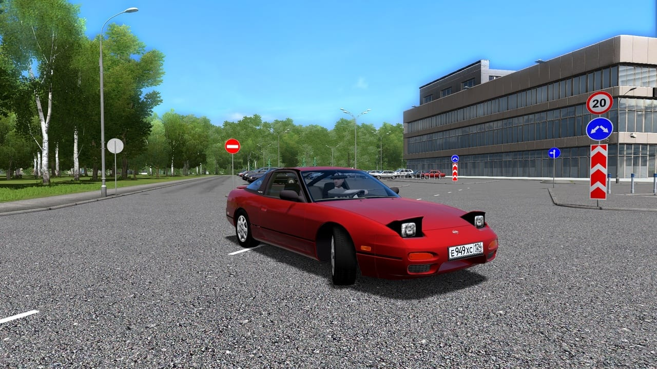 Nissan 240Sx Mod for City Car Driving v 1 5 6