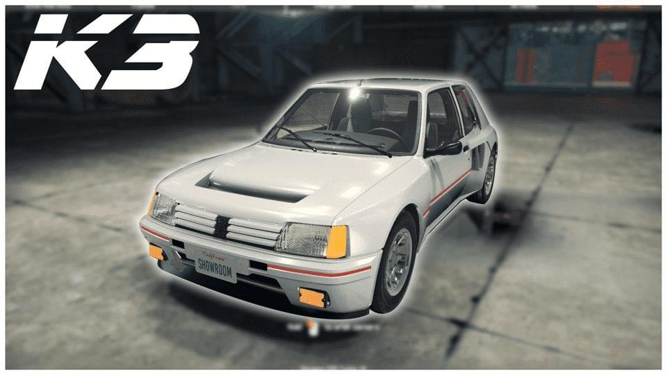 Peugeot 205 Turbo 16 (1984) Mod for Car Mechanic Simulator 2018