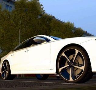 Audi Rs7 4.0 Tfsi V8 Sportback 2016 Mod for City Car Driving v.1.5.1 - 1.5.6