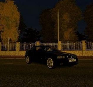 BMW M3 E36  Mod for City Car Driving v.1.5.1 - 1.5.6