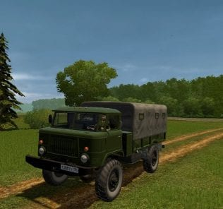 GAZ 66 Mod for City Car Driving v.1.5.0 - 1.5.6